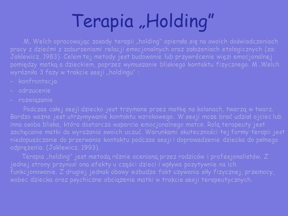 "Terapia ""Holding"