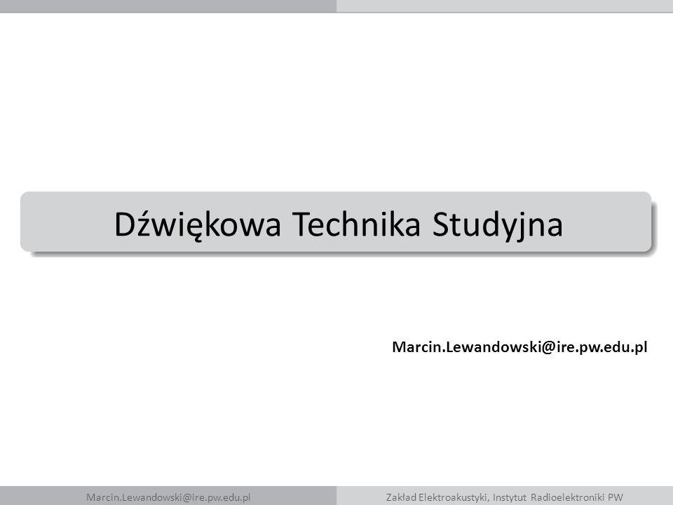 Dźwiękowa Technika Studyjna