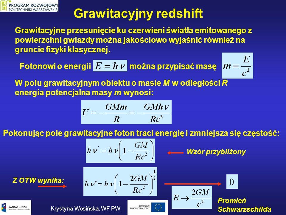 Grawitacyjny redshift