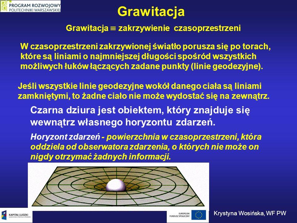 Grawitacja  zakrzywienie czasoprzestrzeni