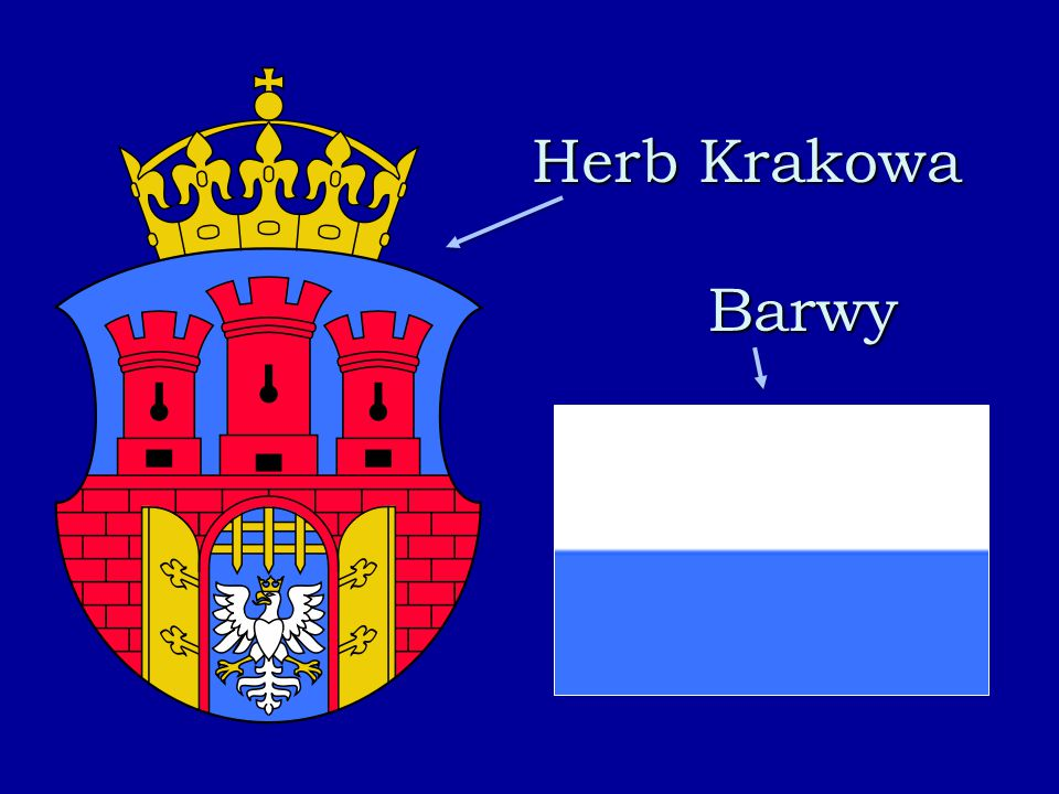 Herb Krakowa Barwy