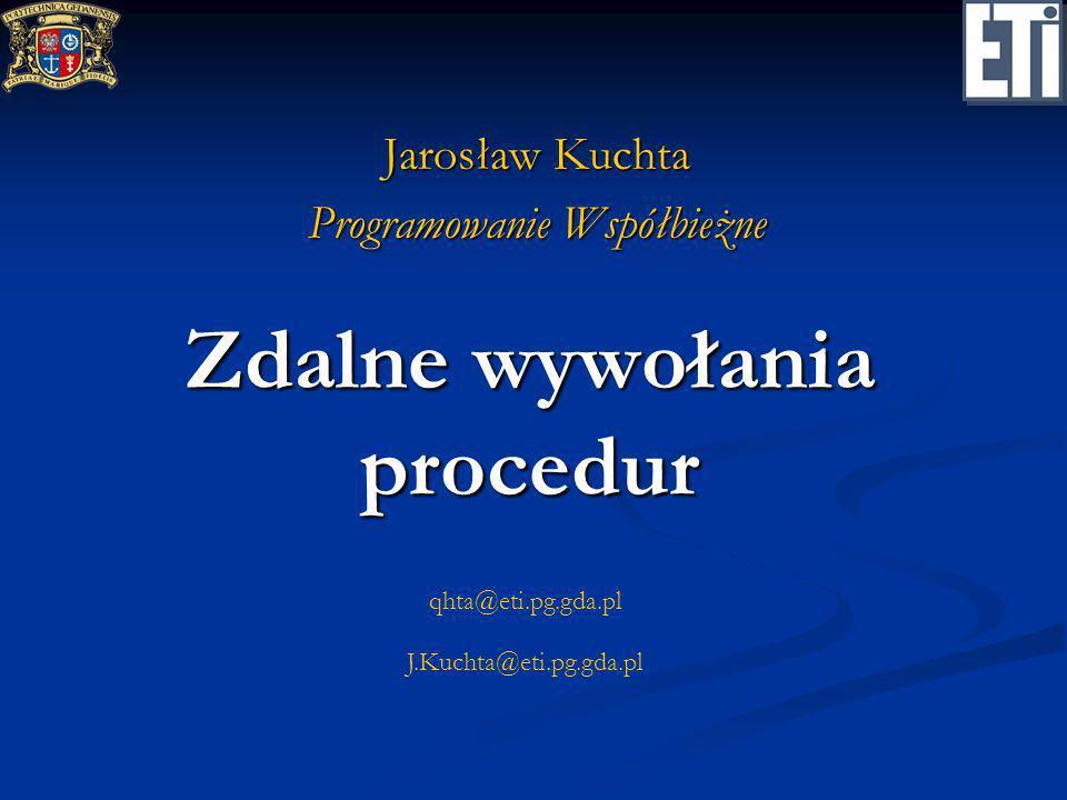 Zdalne wywołania procedur