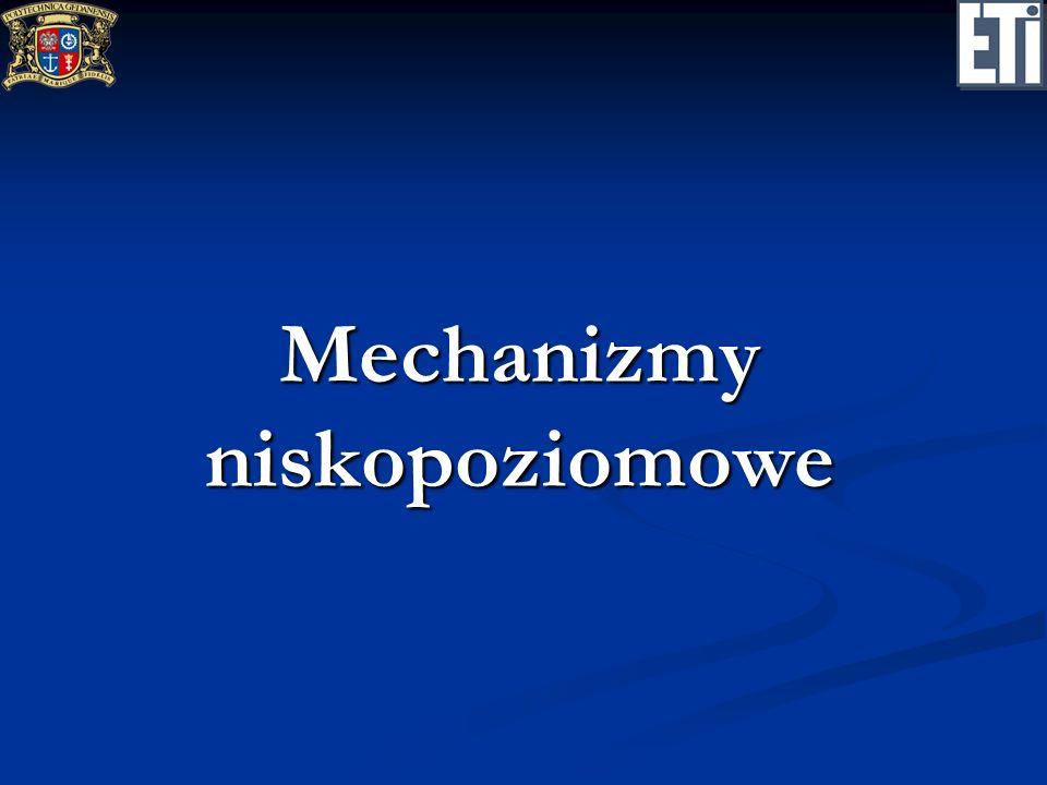 Mechanizmy niskopoziomowe