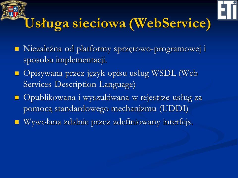 Usługa sieciowa (WebService)