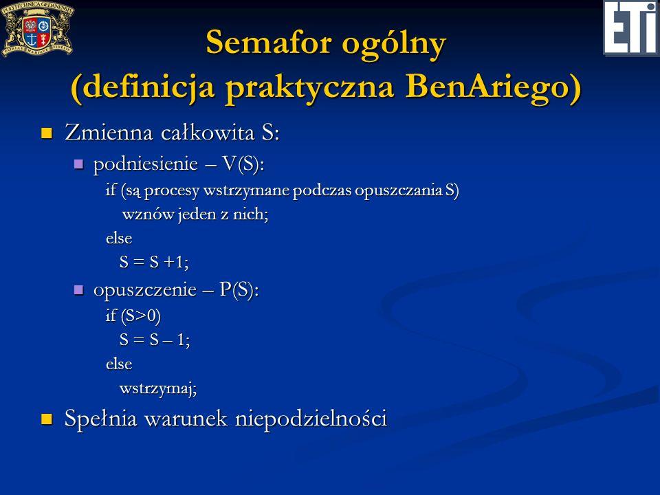 Semafor ogólny (definicja praktyczna BenAriego)