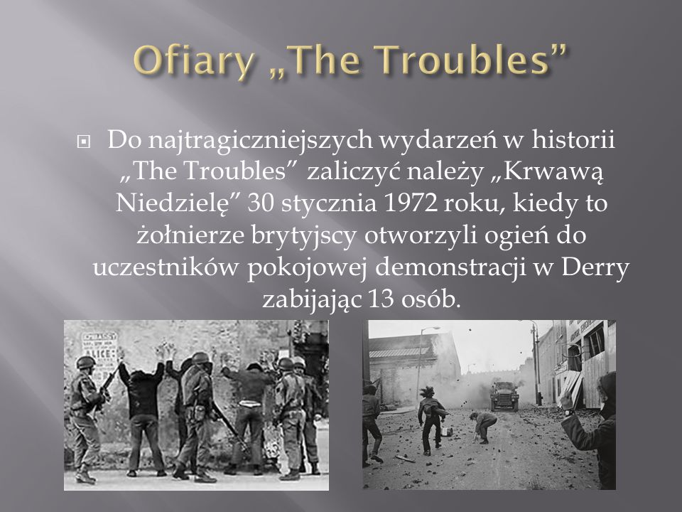 "Ofiary ""The Troubles"