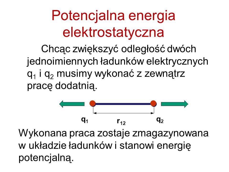 Potencjalna energia elektrostatyczna