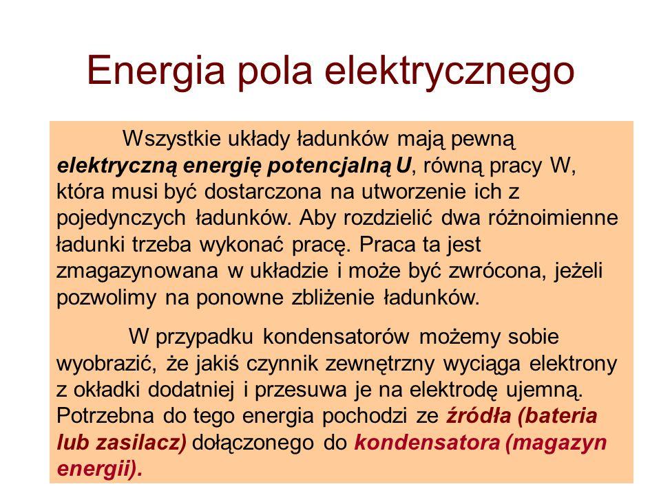 Energia pola elektrycznego