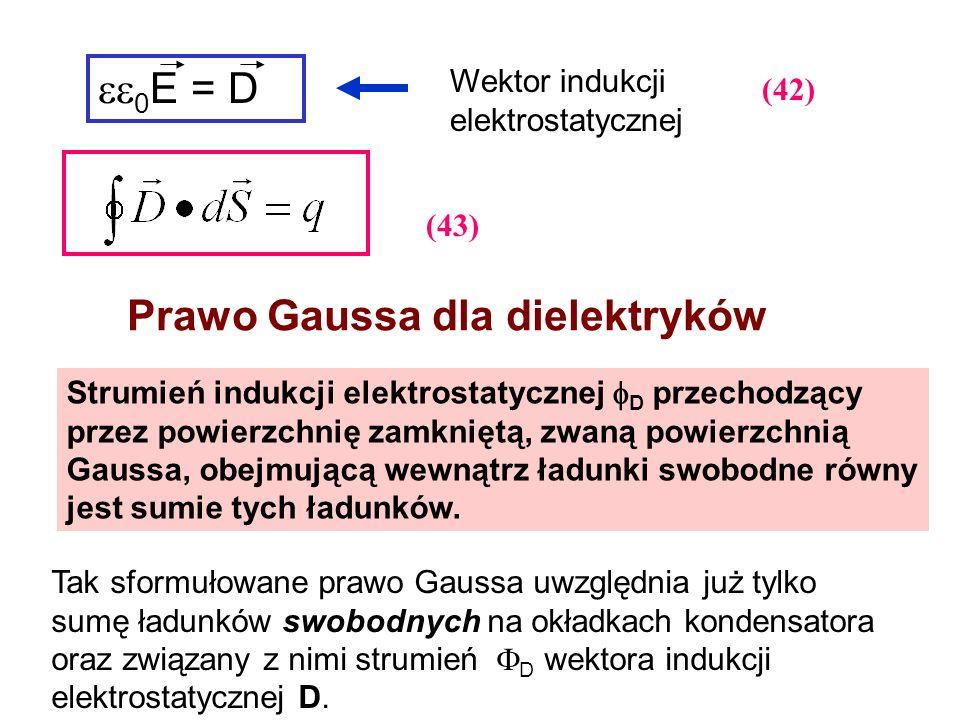 Prawo Gaussa dla dielektryków