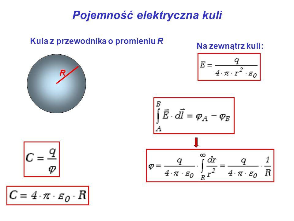 Pojemność elektryczna kuli