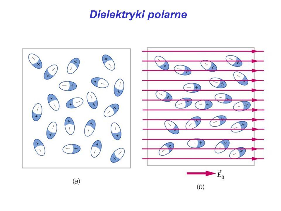 Dielektryki polarne dielektryk polarny: