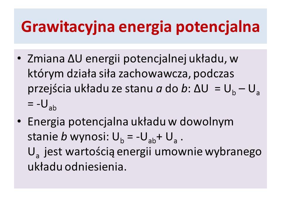 Grawitacyjna energia potencjalna