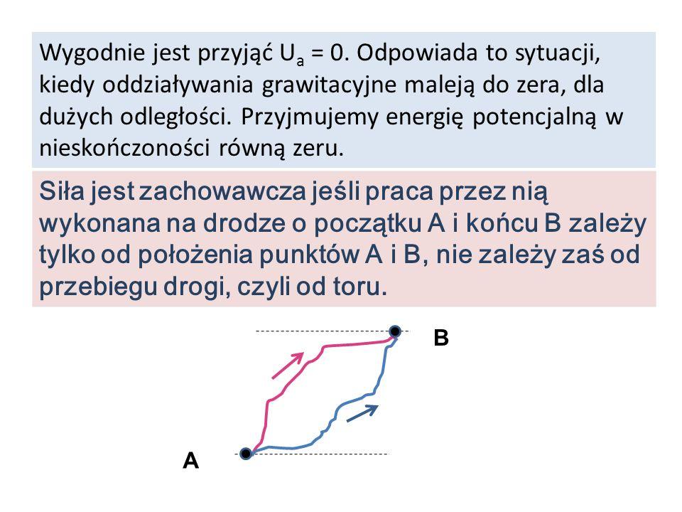 Wygodnie jest przyjąć Ua = 0