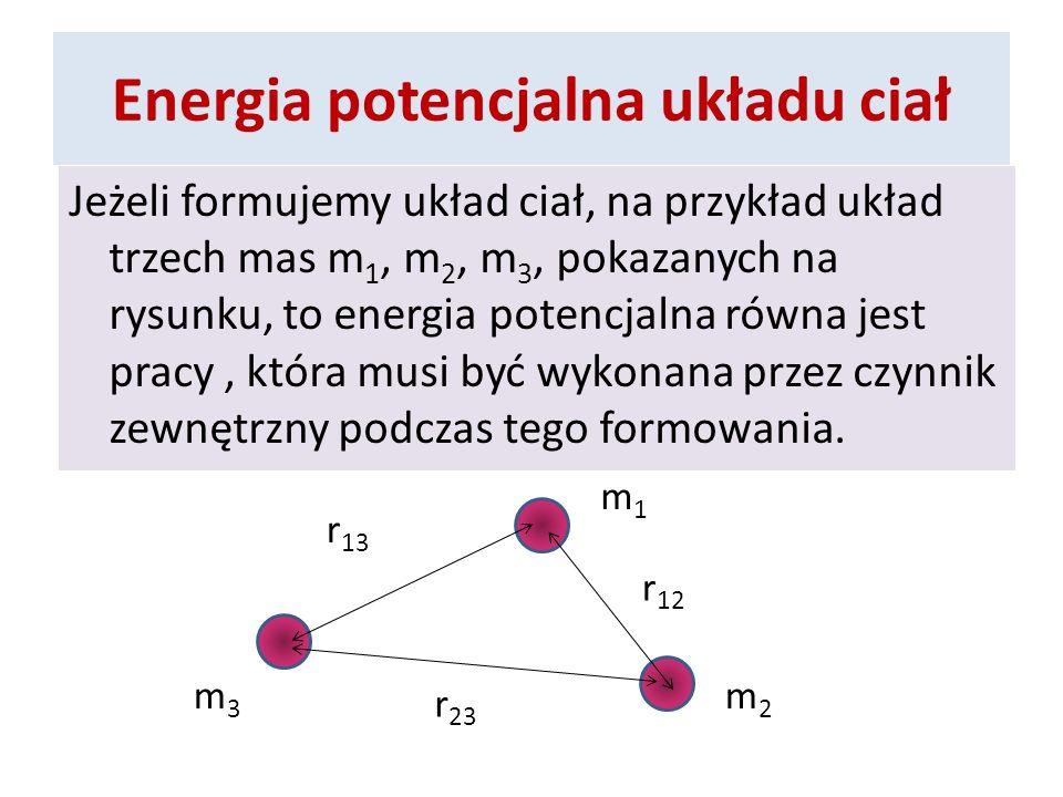 Energia potencjalna układu ciał