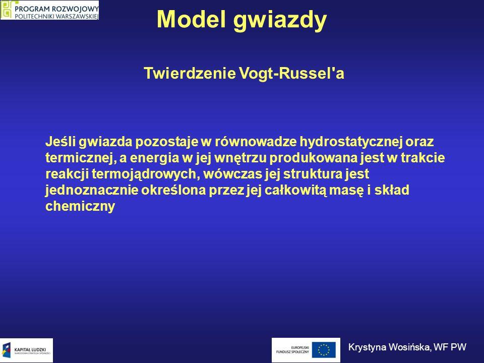 Twierdzenie Vogt-Russel a