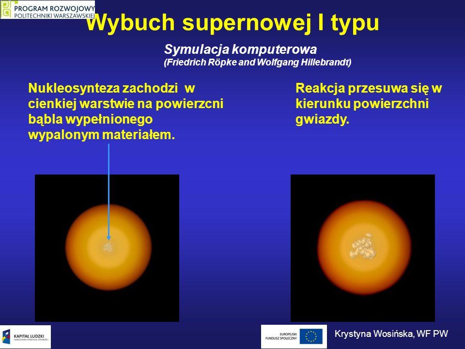 Wybuch supernowej I typu