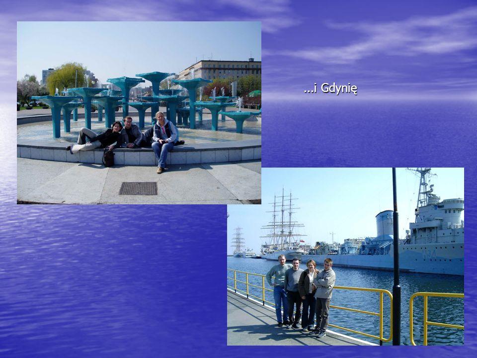 ...i Gdynię