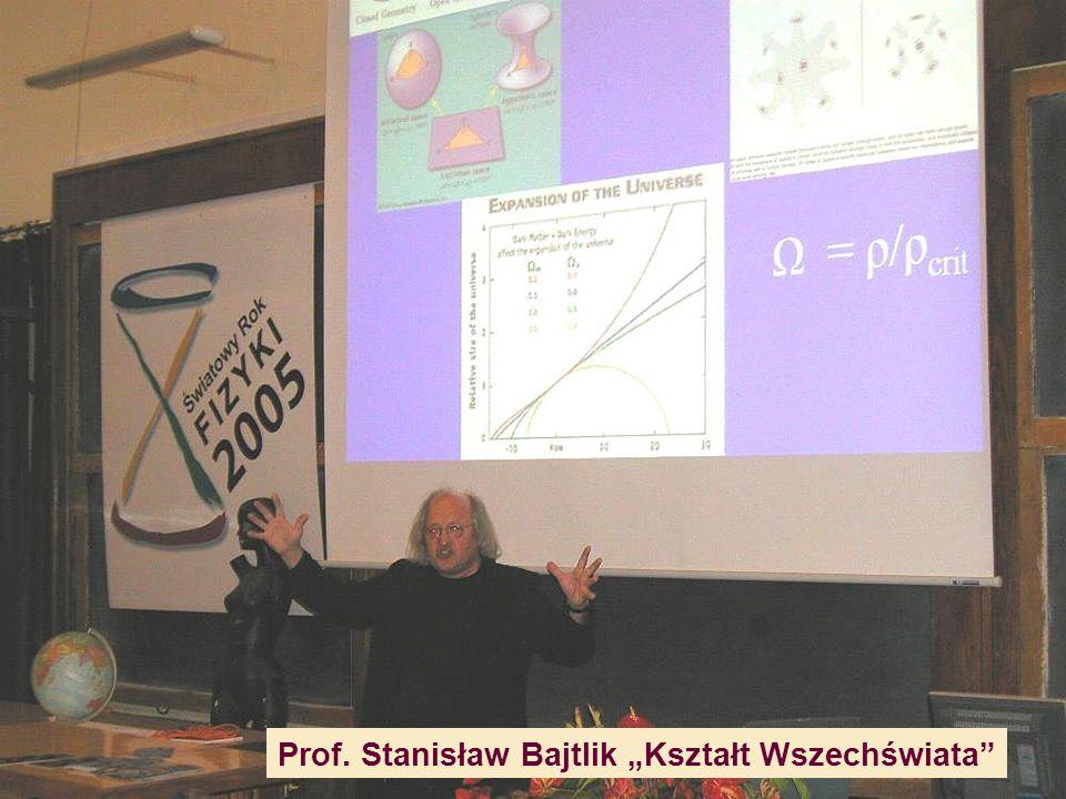 """Prof. Stanisław Bajtlik """"Kształt Wszechświata"""