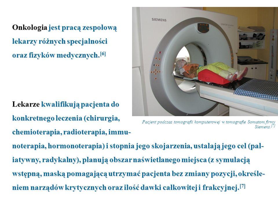 Onkologia jest pracą zespołową lekarzy różnych specjalności
