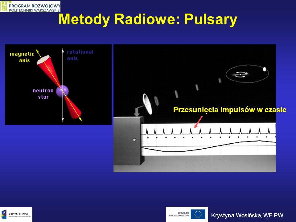 Metody Radiowe: Pulsary