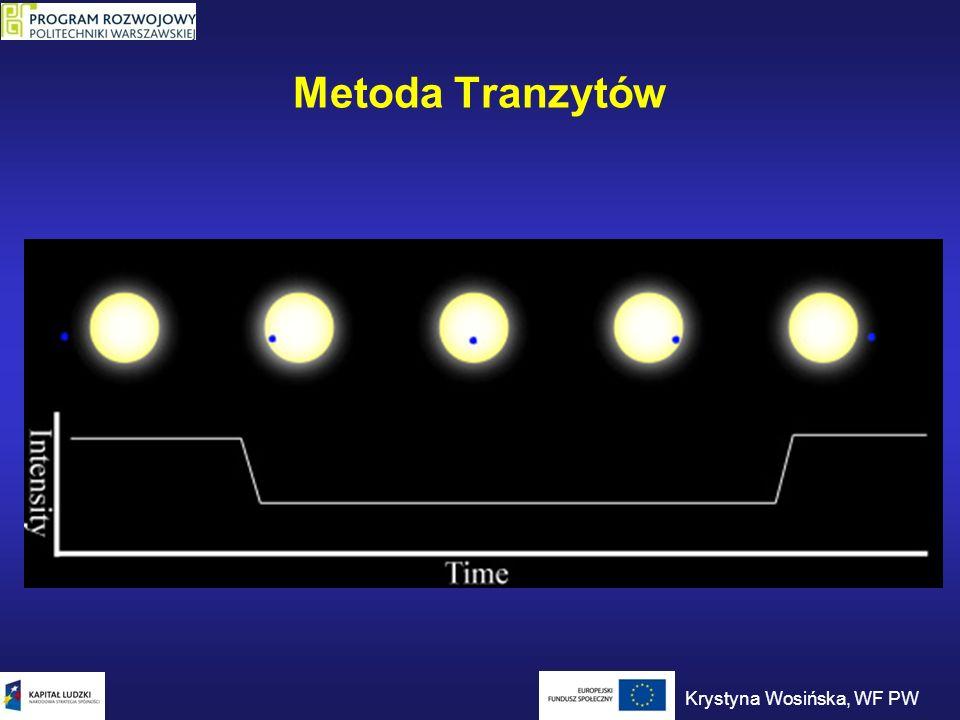Metoda Tranzytów Krystyna Wosińska, WF PW