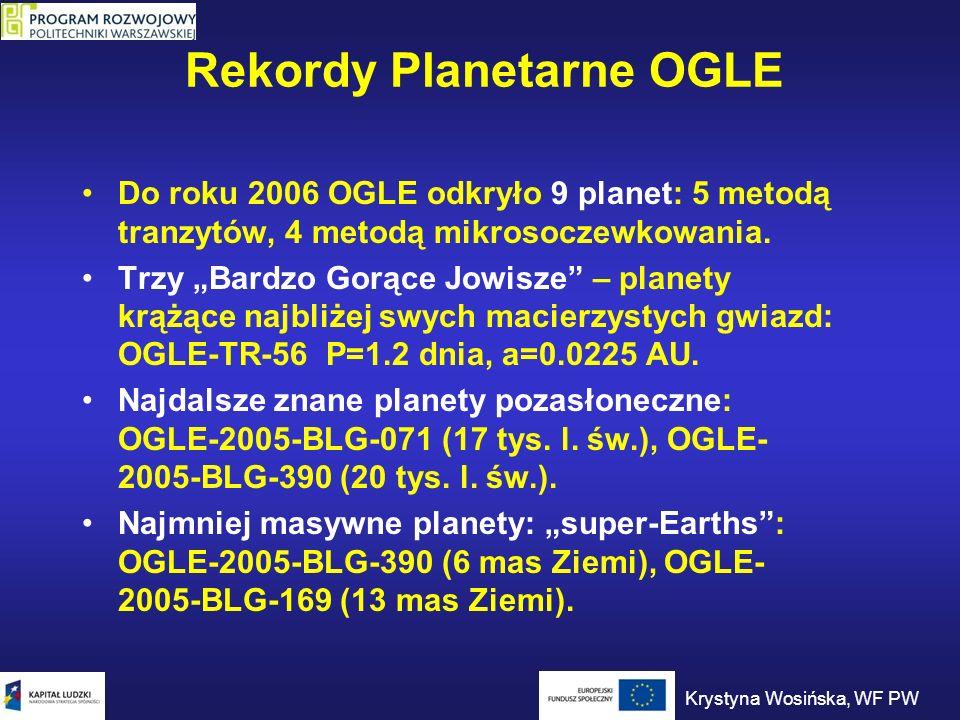 Rekordy Planetarne OGLE