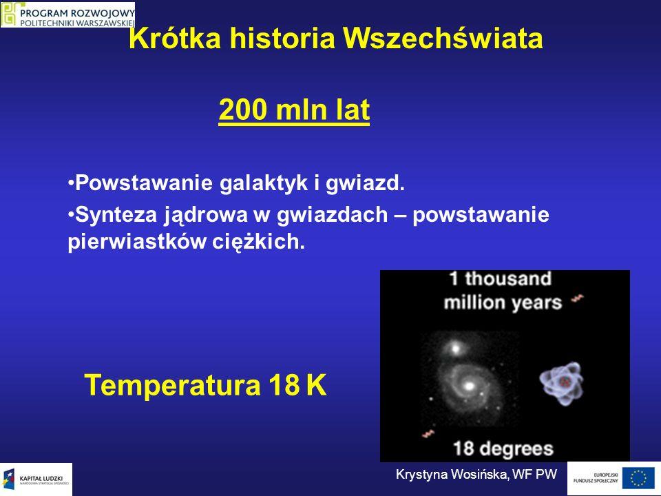Krótka historia Wszechświata