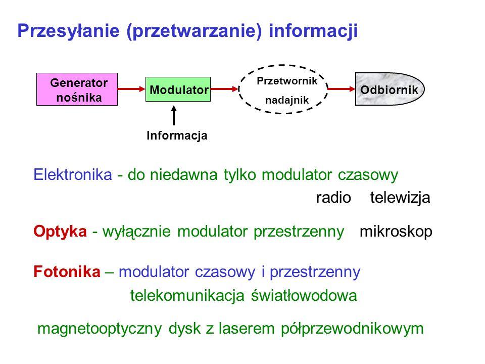 Przesyłanie (przetwarzanie) informacji