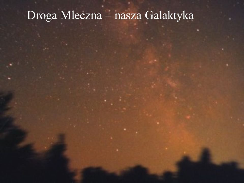 Droga Mleczna – nasza Galaktyka