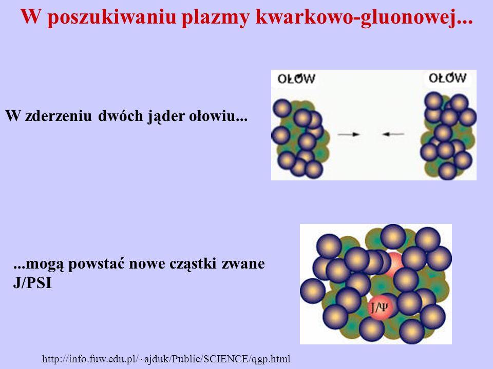 W poszukiwaniu plazmy kwarkowo-gluonowej...