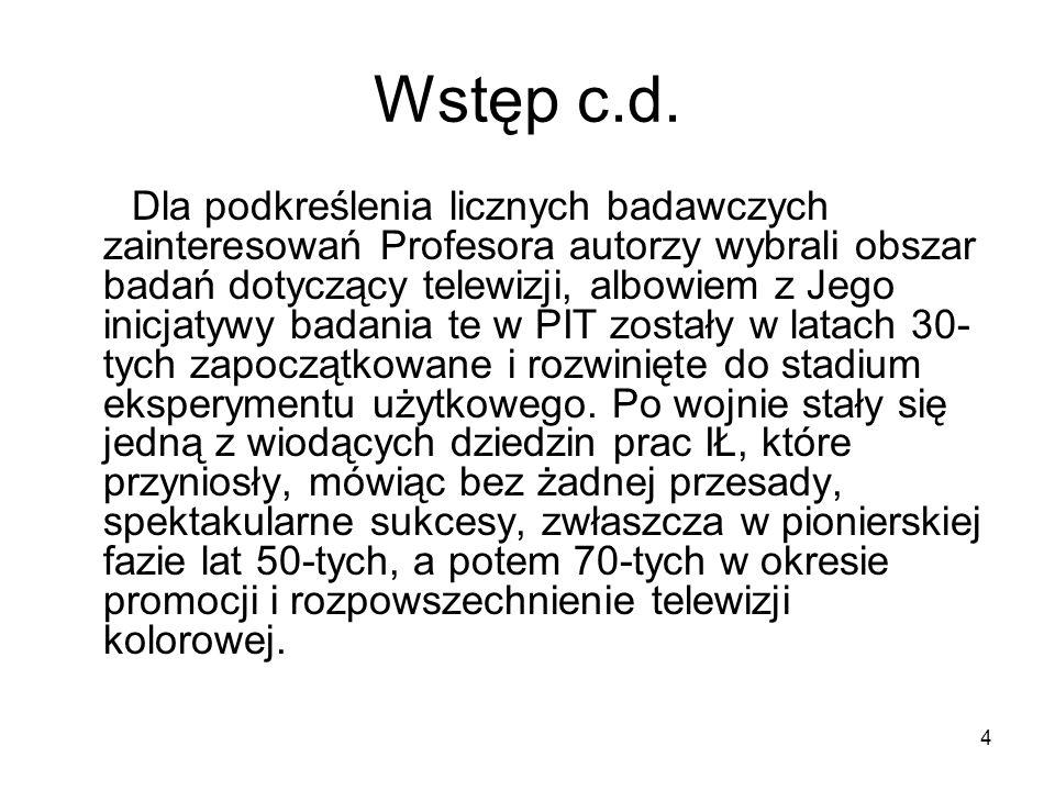 Wstęp c.d.