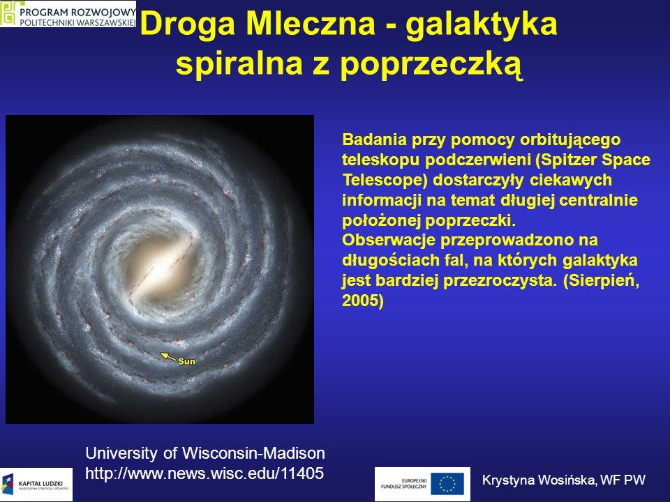Droga Mleczna - galaktyka spiralna z poprzeczką