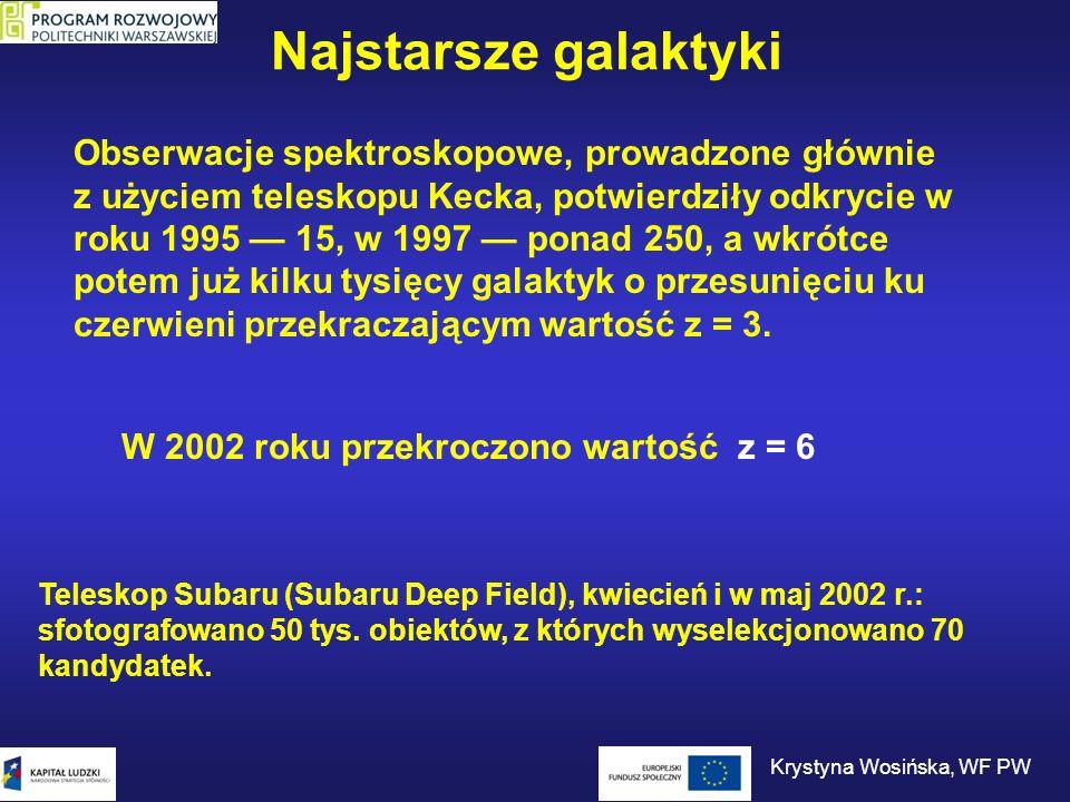 W 2002 roku przekroczono wartość z = 6