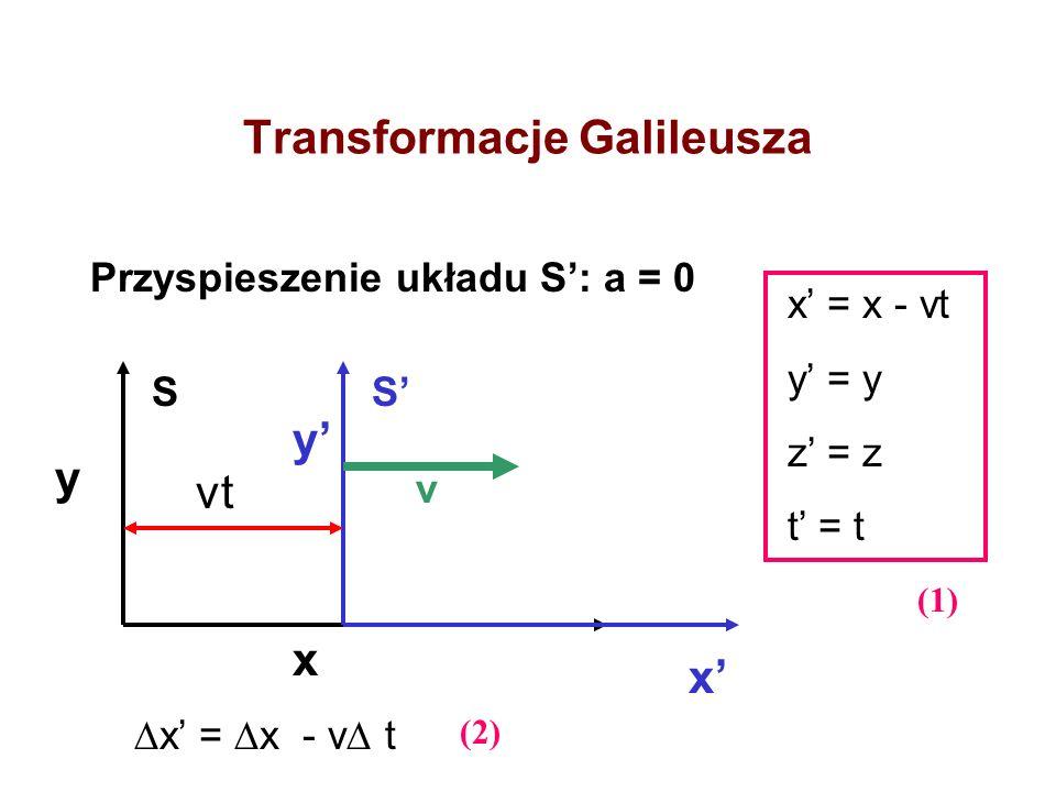 Transformacje Galileusza