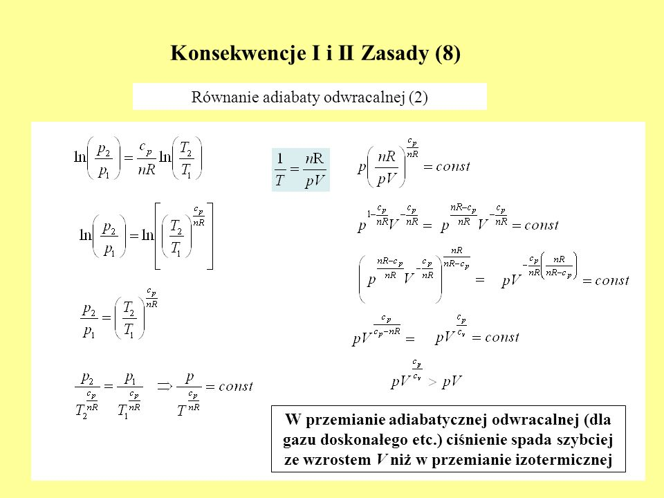 Konsekwencje I i II Zasady (8)