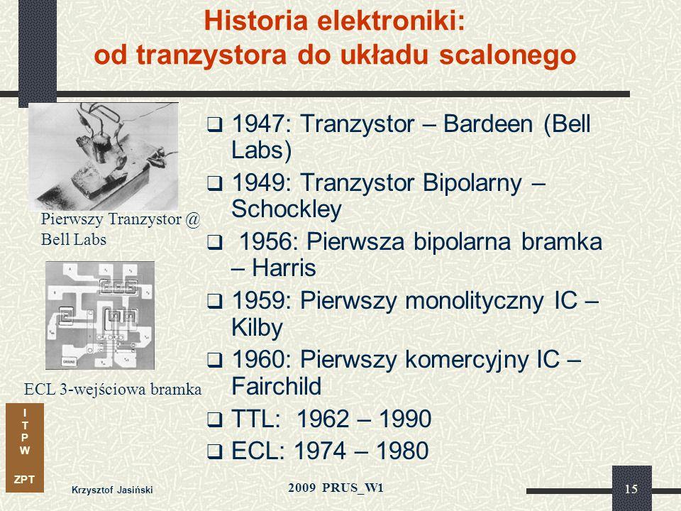 Historia elektroniki: od tranzystora do układu scalonego