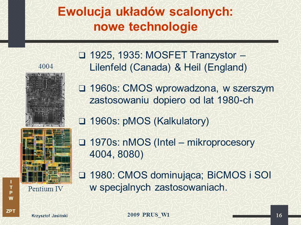 Ewolucja układów scalonych: nowe technologie