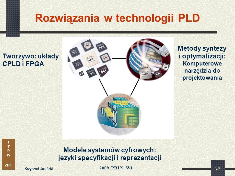 Rozwiązania w technologii PLD