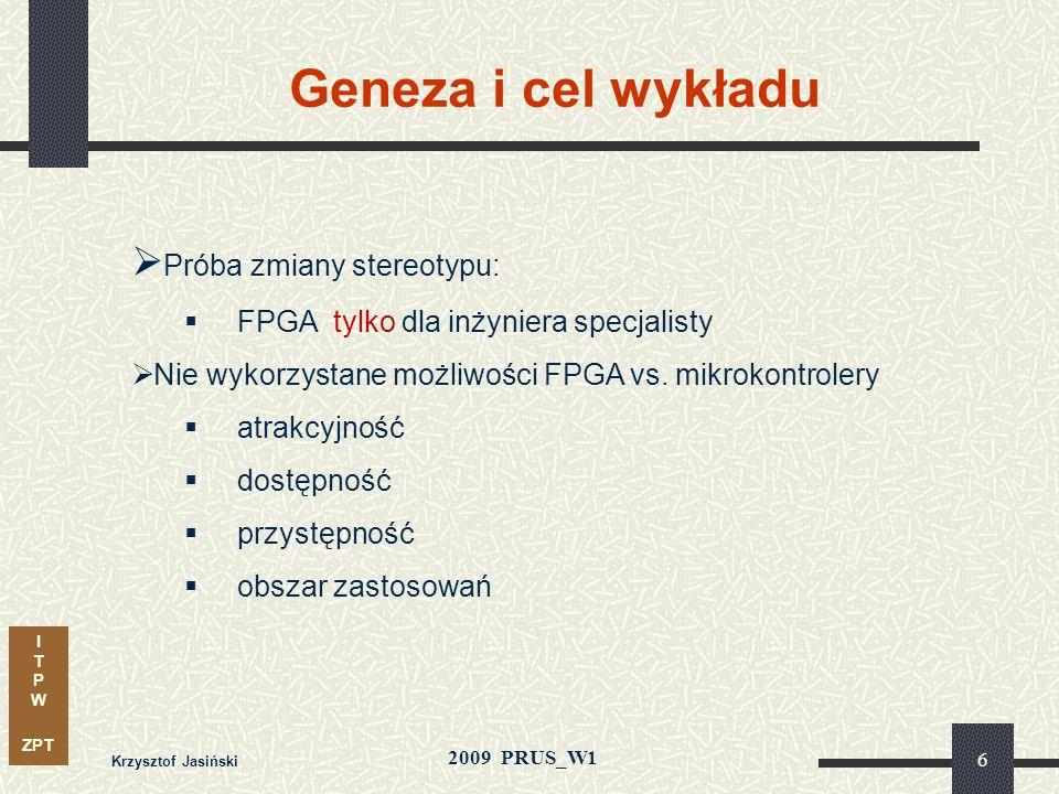 Geneza i cel wykładu Próba zmiany stereotypu: