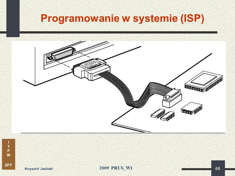 Programowanie w systemie (ISP)