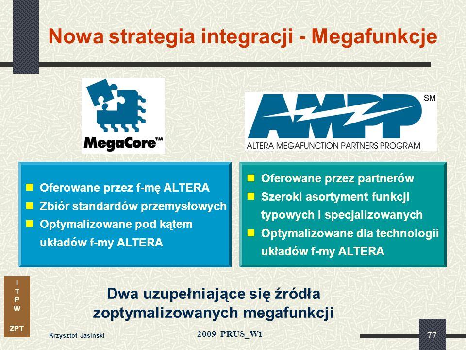Nowa strategia integracji - Megafunkcje