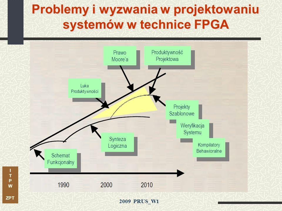Problemy i wyzwania w projektowaniu systemów w technice FPGA