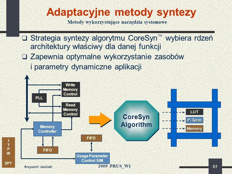Adaptacyjne metody syntezy