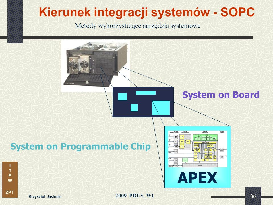 Kierunek integracji systemów - SOPC
