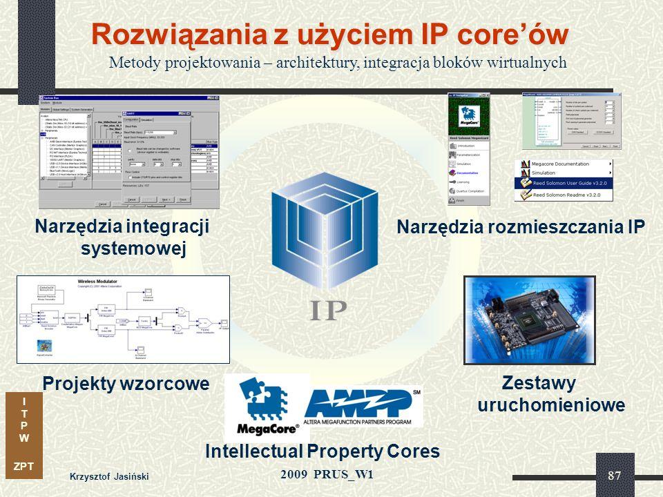 Rozwiązania z użyciem IP core'ów