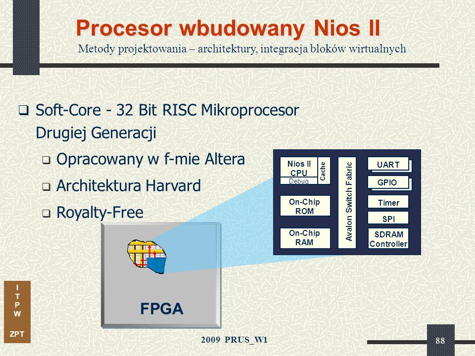 Procesor wbudowany Nios II