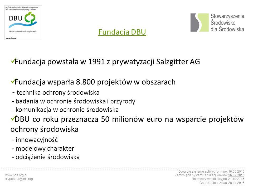 Fundacja powstała w 1991 z prywatyzacji Salzgitter AG