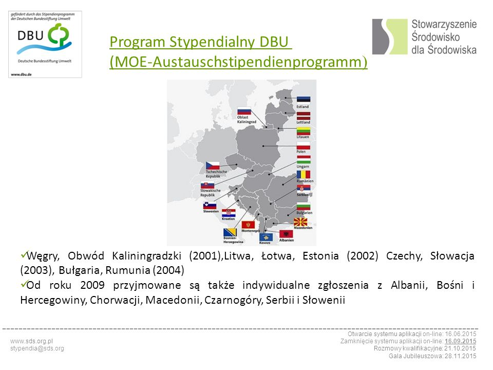 Program Stypendialny DBU (MOE-Austauschstipendienprogramm)