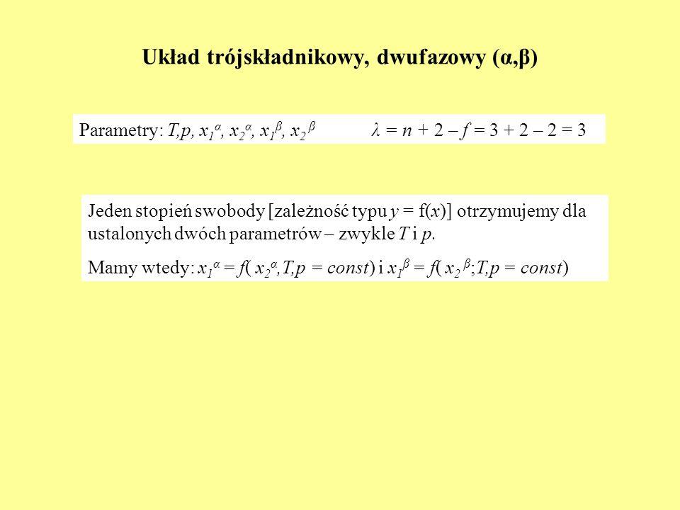 Układ trójskładnikowy, dwufazowy (α,β)