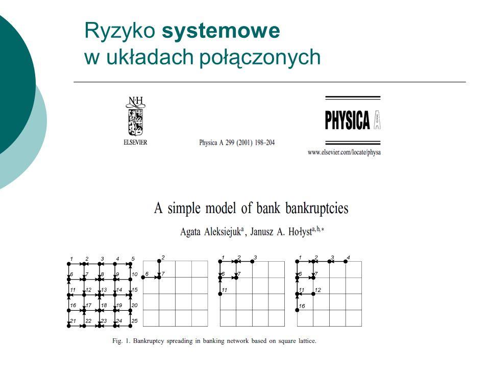 Ryzyko systemowe w układach połączonych